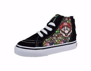 51f9e46fa81333 Image is loading Vans-Nintendo-Shoes-Super-Mario-amp-Luigi-Toddlers-