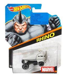 Details about Hot Wheels Marvel Car - Rhino (BDM71) - BDM80 - Die-cast model