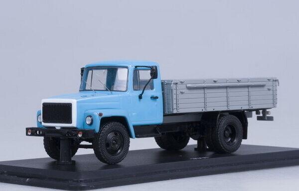 GAZ 3307 Blau-grau  SSM1150 1 43