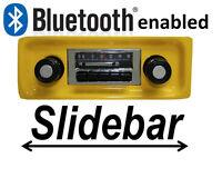 Custom Autosound Slidebar Radio Stereo & Bluetooth Kit 1967-1972 Chevy Truck