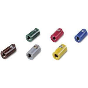 Presa-2-6-mm-per-modellismo-ferroviario-100-pz-giallo-grigio-verde-rosso