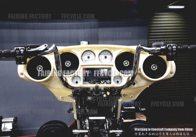fairing glide inner quad speaker harley inch electra davidson