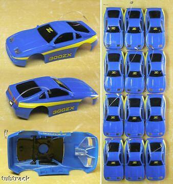 12 1991-1993 Tyco Tcr Nissan 300zx Raro azul yel Cuerpo 6331