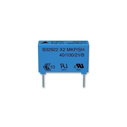 B32922C3684M Epcos Capacitor, Class X2, 680Nf, 305Vac