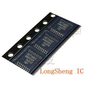 10PCS-HCT4051-74HCT4051PW-TSSOP-8-channel-analog-multiplexer-demultiplexer