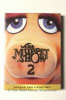 The Muppet Show Season 2 Restored & Remastered 4-disc Dvd Set Hours Of Bonuses
