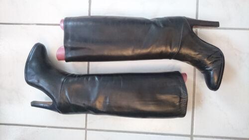 schwarz 5 Vintage T Italien 37 Bargif Stiefel HCqpTWU