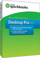 Intuit Quickbooks Pro 2017 Accounting For Windows Desktop From 1 To 3 Users