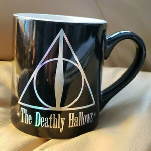 Harry Potter S The Deathly Hallows Coffee Cup Mug Ebay