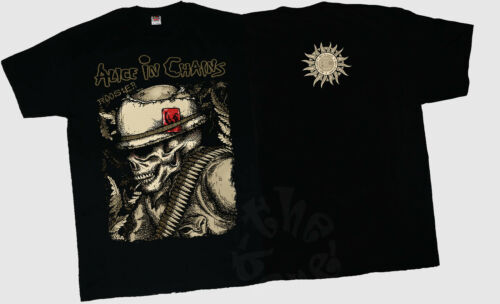 NEW T-SHIRT MEN/'S-DTG PRINTED TEE SIZE-S// 7XL ALICE IN CHAINS Rooster