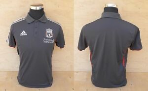 Liverpool-FC-Polo-official-product-grey-Adidas-ORIGINAL-Size-Uk-38-40-I-5-j-L