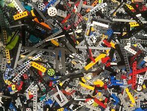 Lego-Technic-250g-gemischt-Konvolut-Steine-Pins-Achsen-Buchsen-Teile-Bulk