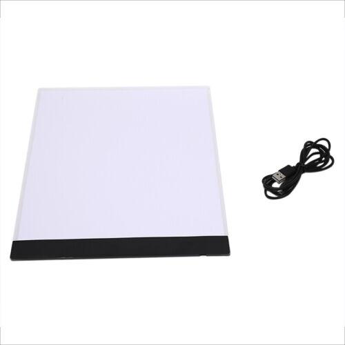 Dibujo A4 LED Tableta Arte Tablero de Dibujo Mesa De Trazado de caja de luz Pad Craft Supply
