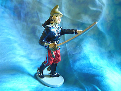 Fantassin annamite  N°8  Toy soldiers 14//18 Soldat de plomb CBG Hachette