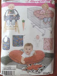 Sewing Pattern Simplicity 4225 Baby Boppy Shopping Cart