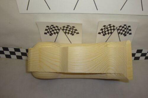 Rounded Fenders! Pumped!.. #58LS Lightning McQueen Pinewood Derby Pre-cut