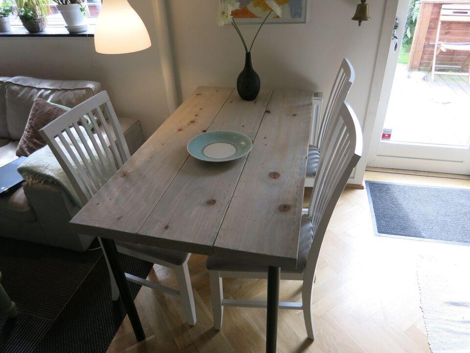 Spisebord, Plankebord, Håndlavet