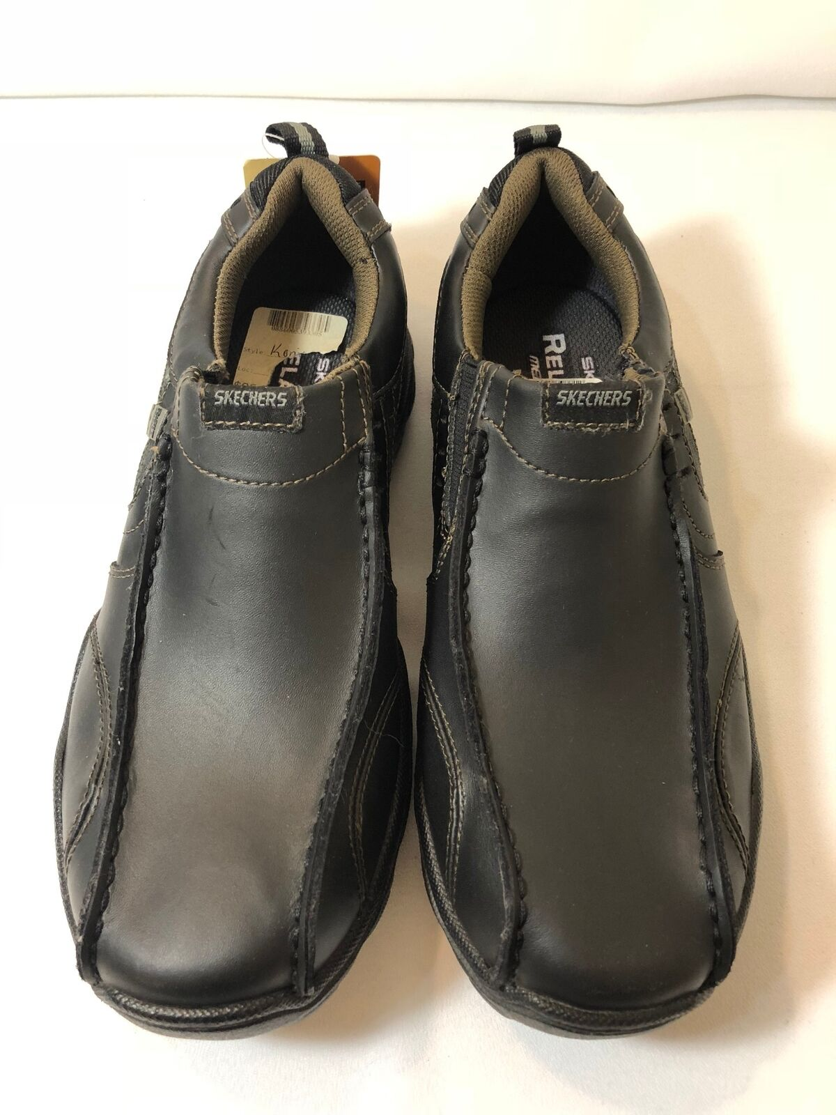 Skechers Men's Konic Relaxed Fit Memory Foam Loafers shoes Slip On Size 8