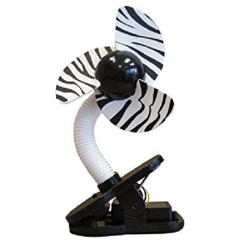 Dream Baby Tee-Zed Battery Operated Clip On Foam Stroller Playpen Car Seat Fan