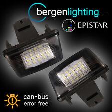 Para Peugeot 206 207 306 307 308 406 407 5008 socio LED matrícula Lámpara