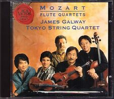 James GALWAY & TOKYO STRING QUARTET: MOZART Flute Quartets RCA CD Flöte Quartett