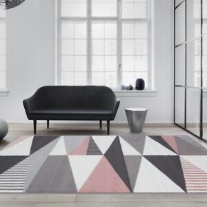 Modern Pink Geometric Rug Designer