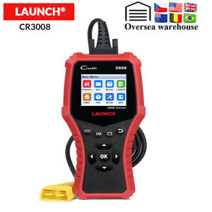 Launch CR3008 Auto OBD2 Scanner Full OBDII Functions Engine Diagnostic Tool