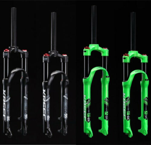 """26 27.5 inch Air Suspension Front Fork 120mm 1-1//8/"""" for MTB Mountain Bike"""