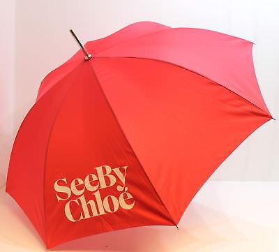 2019 Ultimo Disegno Chloe Parfums Da Chloe Grandi See Ombrello, Rosa/rosa/corallo-mostra Il Titolo Originale Morbido E Antislipore