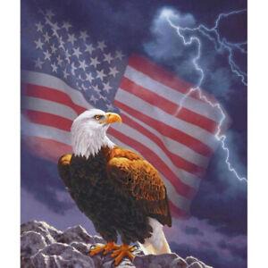 5D Eagle People Full Drill Diamond Painting Cross Kits Embroidery Wall Art De