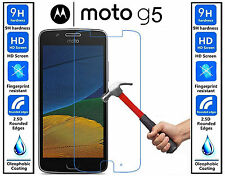 Genuine 100% TEMPERED GLASS HD Screen Protector Cover For Motorola Moto G5