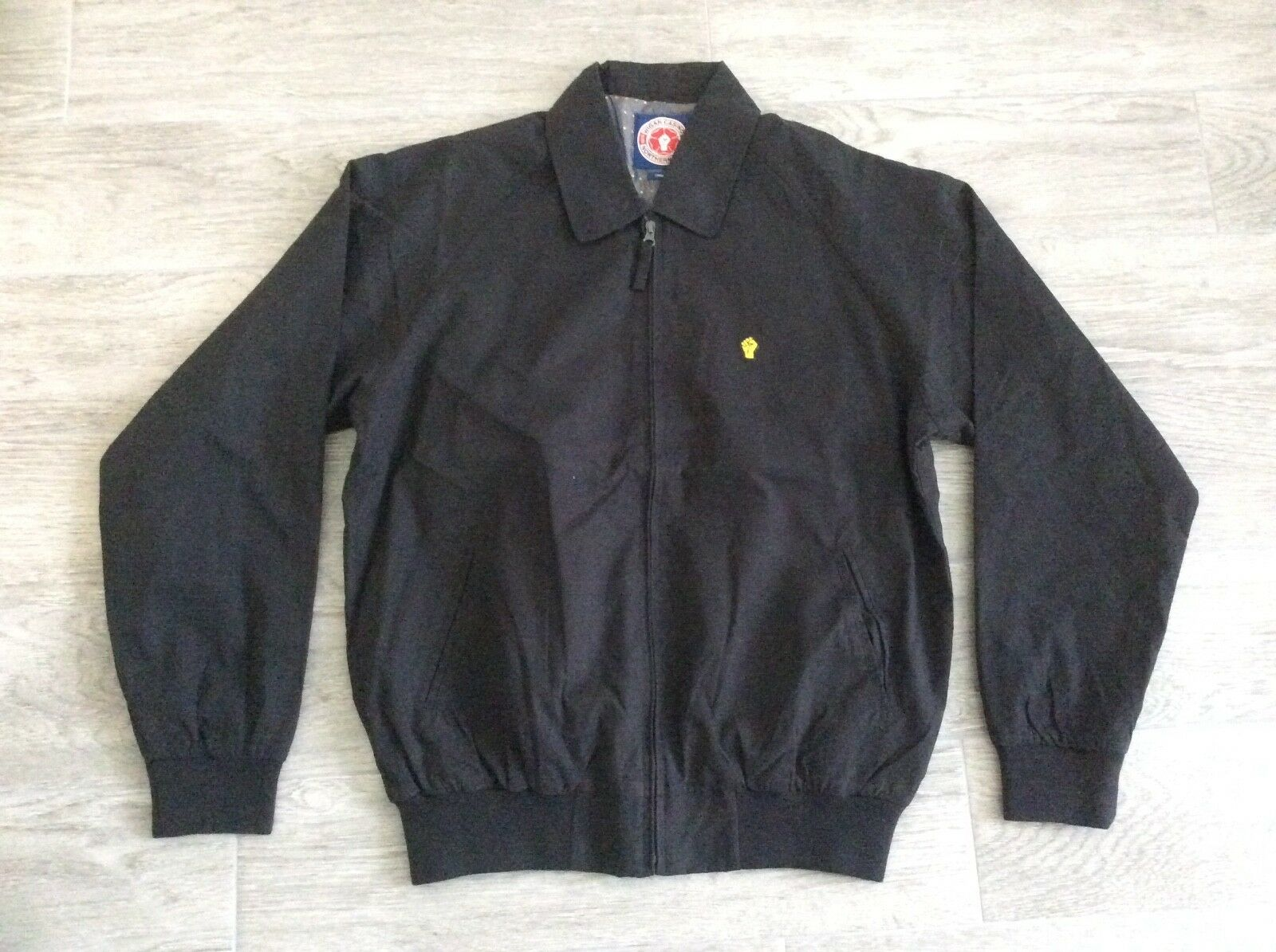 Noir Casino northern Soul Taille harrington Veste Wigan L Bomber Homme xP0qTw1pn