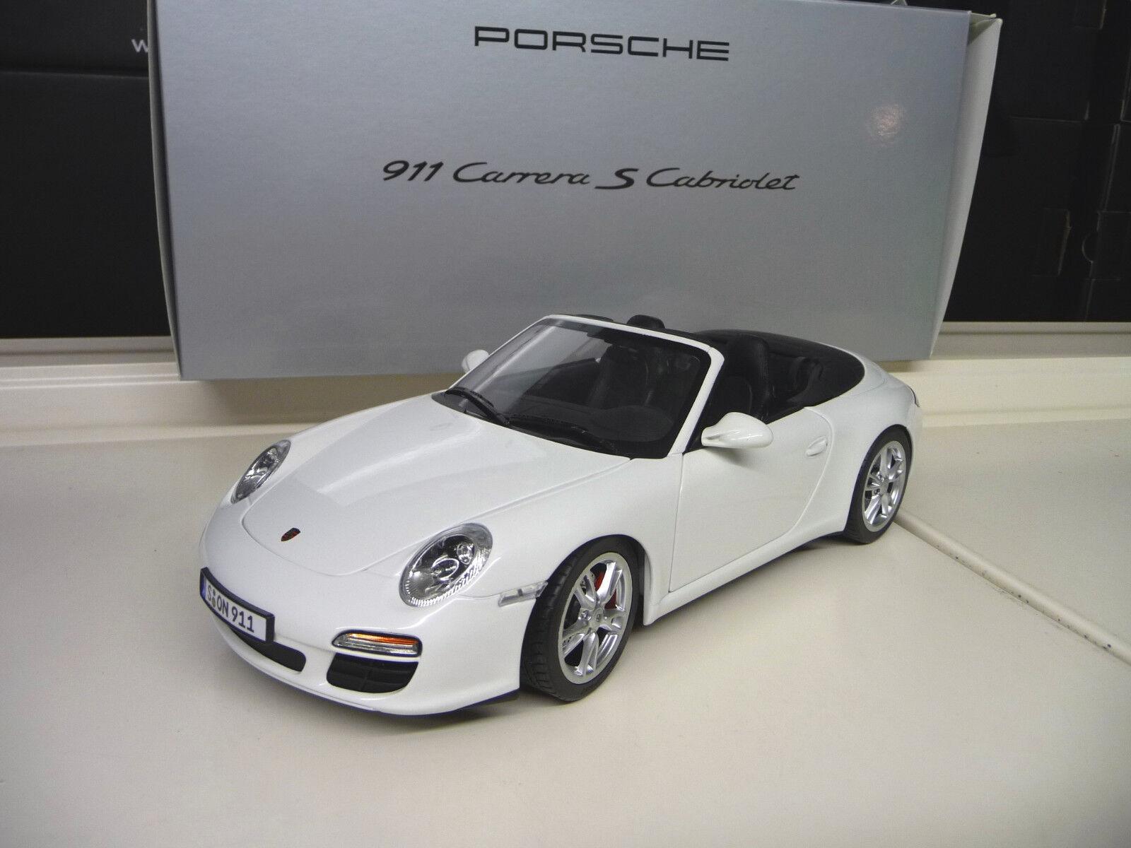 Porsche  Carrera S  Convertible Distribuidor edición Norev 1:18 Envío Gratis