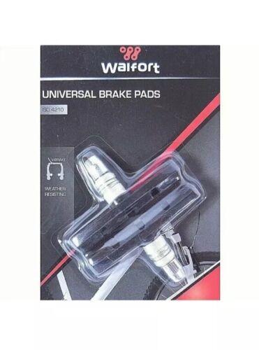 2 Bremse Bremsbelag Bremsschuh Fahrrad universal V-Brake Universal Walfort