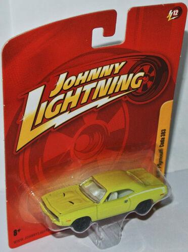 1:64 Johnny Lightning Forever 64 R12-1970 PLYMOUTH CUDA 383 yellow