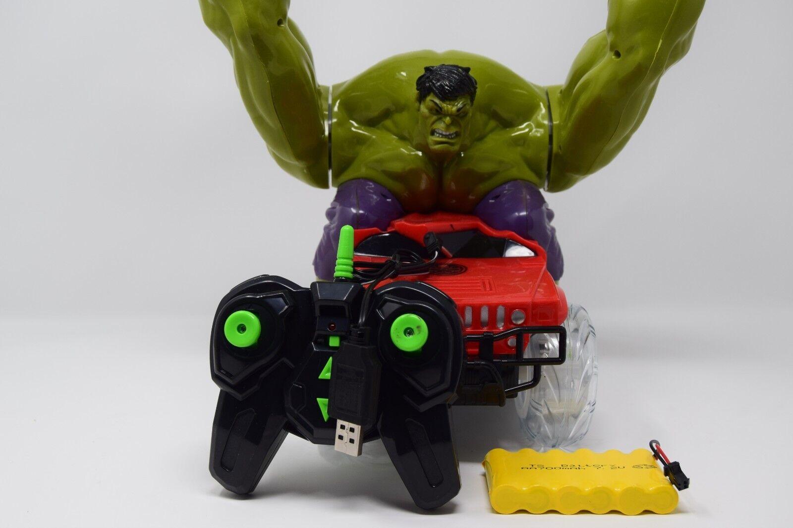 2.4ghz Hulk Dumper Stunt Radio Remote Control - Lights & Movie Sound Effect