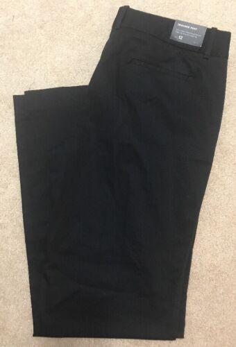 tasche cotone con Passanti 12 in per cintura tasche nero a R1RwxHCS