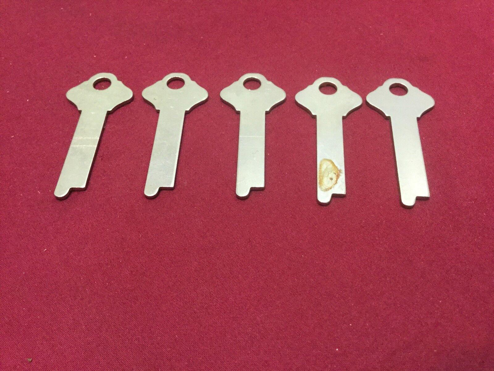 Locksmith Misc Flat Steel Key Blanks O1215 Set of 5