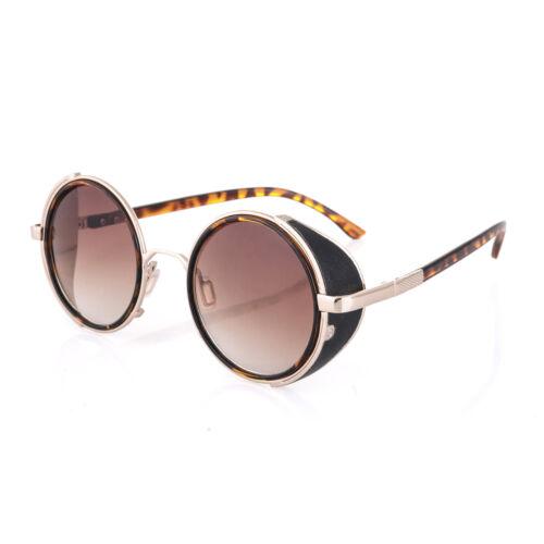 Men Women ROUND 50s Mirror E CYBER GOGGLES Sunglasses GOTH  STEAMPUNK  VICTORIAN