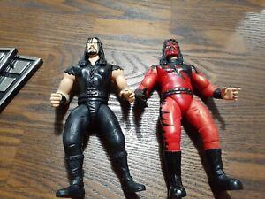 WWF-Undertaker-1997-KANE-1998-Jakks-Pacific-Wrestling-Figure