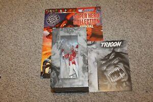 """EAGLEMOSS DC SUPER HERO COLLECTION SPECIAL /""""TRIGON/"""" FIGURINE MAGAZINE"""