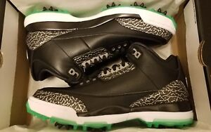 e0a374de3a42 Image is loading Nike-Air-Jordan-3-Golf-Shoes-Size-9-