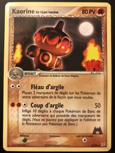 Carte Pokemon RAMOLOSS 45//95 Team Aqua Vs Team Magma FR NEUF