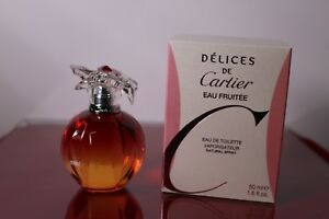 3ed6eea2dc9 DELICES DE CARTIER Eau Fruitee By Cartier 1.6 oz 50 ml Womens ...