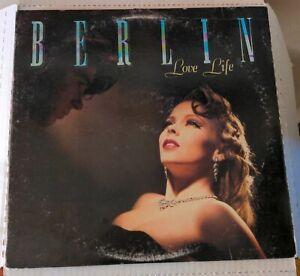 BERLIN Love Life GHS4025 LP Vinyl 1984 Club Edition Geffen Records