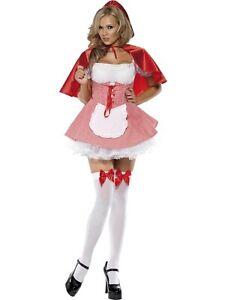SMIFFYS-Costume-vestito-Cappuccetto-Rosso-carnevale-donna-adulto-110-27043M