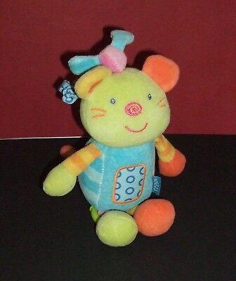 Baby Fehn (topolino) Spieluhr ♥ Katze ♥ 22cm ♪♫ Schlafe, Mein Prinzchen..♪♫ Top Duftendes (In) Aroma