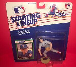 1989 Kenner Starting Lineup SLU Baseball-Roger Clemens- Boston Red Sox
