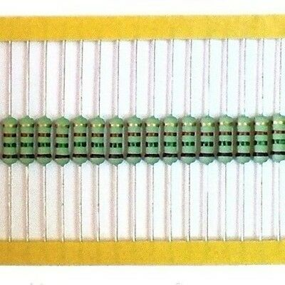 Lot of 20 Metal Oxide Flame Proof Resistor 750 ohm 2W