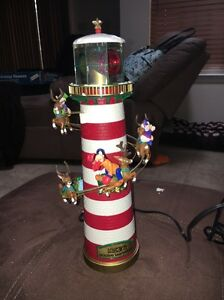 Mr. Christmas Disney Mickey's Holiday Lighthouse - Tree Topper- Works - VGC